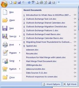 Microsoft Application Conversion
