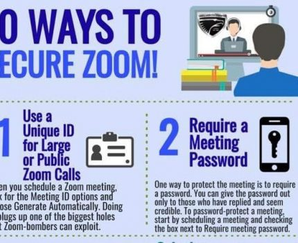 Zoom Security. Keep your Video Conferencing Safe